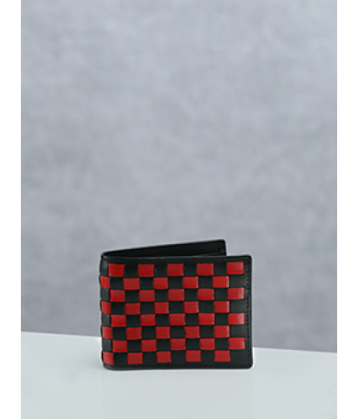 Weaved Bi Fold Wallet
