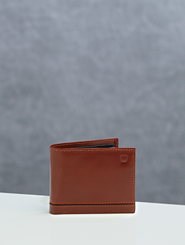 Bi Fold Wallet with Coin Pocket